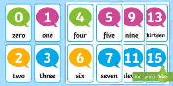 A Gift Card Number - number flash cards 0 30 card numbers numeracy flash 30