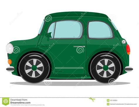 funny small cars small cartoon car stock vector image of business british