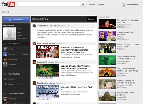 youtube homepage layout how to get the new youtube homepage right now ghacks