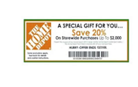 home depot 20 printable coupon enjoy printable coupons