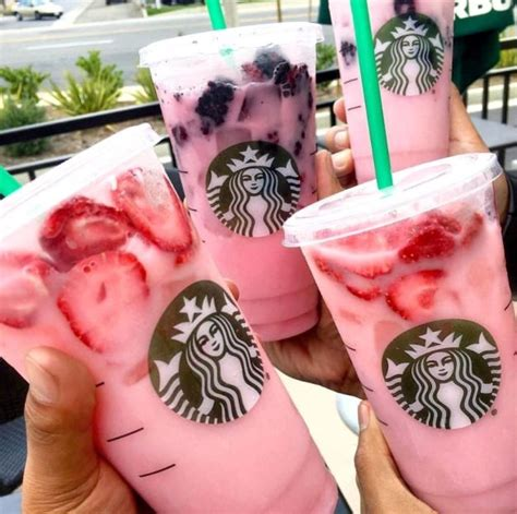 secret starbucks drink starbucks pink drink has taken instagram the