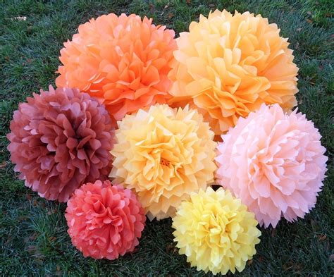 Flower With Tissue Paper - tissue paper flower balls