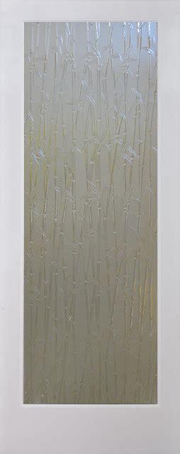 Bamboo Decorative Glass Door Interior Doors Sacramento Bamboo Glass Door
