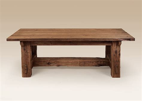 barn wood dining table creative office