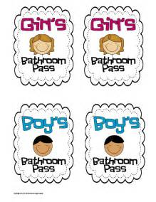 bathroom pass template 7 best images of printable for bathroom passes students