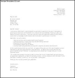 medical assistant entry level cover letter template