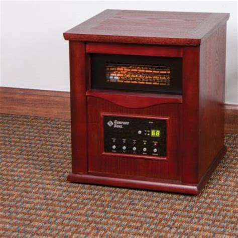 comfort zone infrared heater troubleshooting comfort zone cz2020c infrared quartz heater walmart com