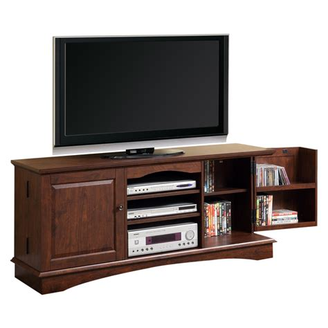 wood entertainment center side cabinets tv stand component