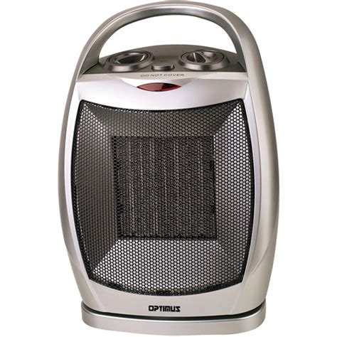 portable room heater walmart optimus heater portable oscillating ceramic thermostat h7247 walmart