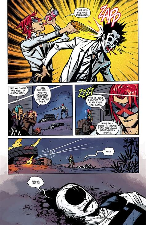 the true lives of the fabulous killjoys page from the true lives of the fabulous killjoys 5 by