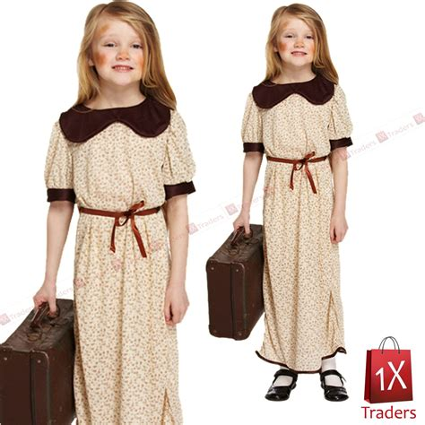 8 Clothes That In A Single Glance by 1940s Evacuee Costume World War 2 Orphans Fancy