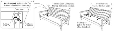 Futon Parts by Assembly For Shadow Futon Frame How To