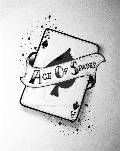 ace of spades by grotesquedarling13 on deviantart