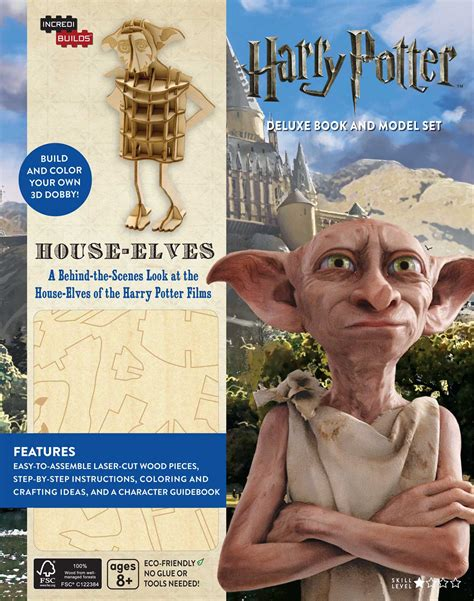 house elves incredibuilds harry potter house elves book by jody
