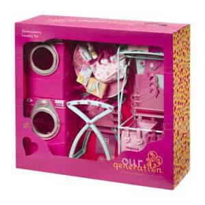 Our Generation Kitchen Play Set Pink Laundry Room Playset Our Generation Target