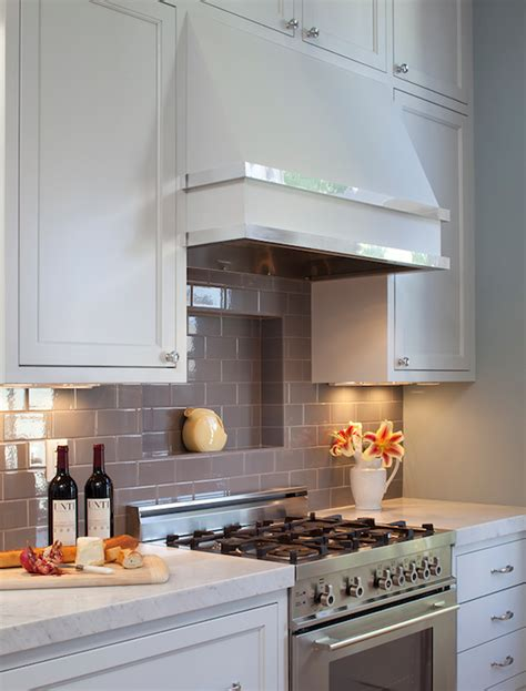 grey kitchen backsplash gray subway tile backsplash design ideas