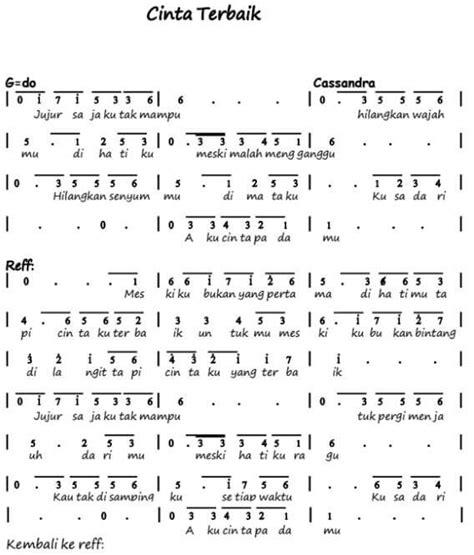 not angka lagu anak anak bintang kecil not angka lagu terbaru 100 not angka lagu pop pianika anak anak balok