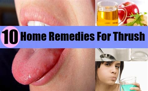 how to treat thrush with home remedies ways to