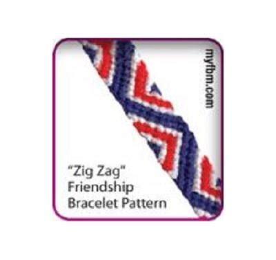 zig zag scallops necklace pattern zig zag friendship bracelet pattern allfreejewelrymaking com