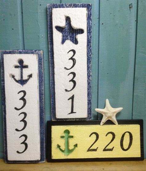 address home decor decorative house number signs onyoustore com
