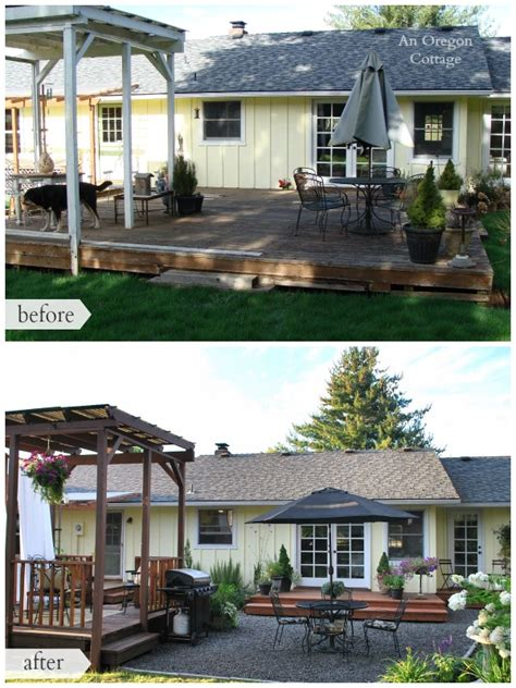 backyard makeovers before and after the backyard makeover reveal an oregon cottage