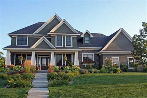 two story craftsman 2 story craftsman style house plans