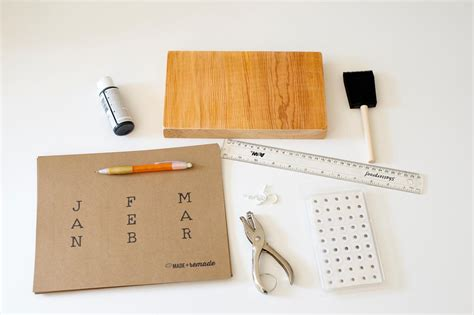 how to make a perpetual calendar make a perpetual calendar for the new year diy network