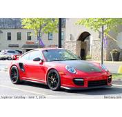 Red Porsche 911 GT2 RS  BenLevycom