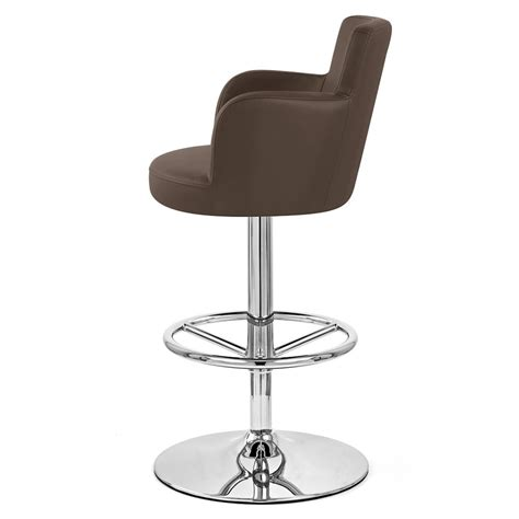 chateau bar stool chateau adjustable height swivel bar stool with chrome