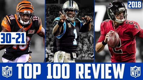 players 100 reviews nfl top 100 players of 2018 reaction 30 21 nfl top 100