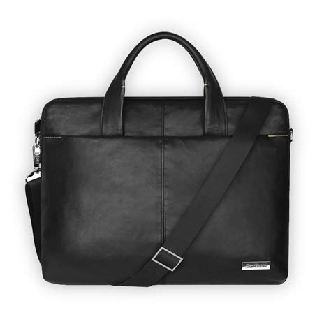 Cartinoe Dirigent Bag Series Max 13 3 Inch slap up laptop shoulder bag for business pu leather