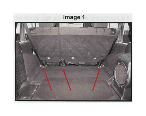 jeep jk rear seat recline how to install rear seat recline kit on your wrangler