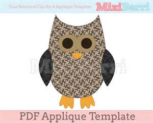 Applique Templates by Applique Template Owl Pdf On Luulla
