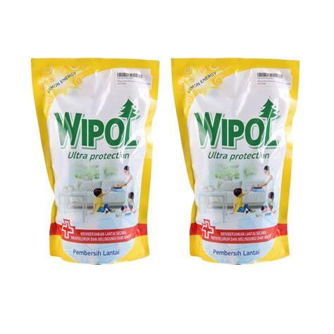 Pembersih Lantai Wipol jual wipol ultra protection pembersih lantai 2x 750 ml harga kualitas terjamin