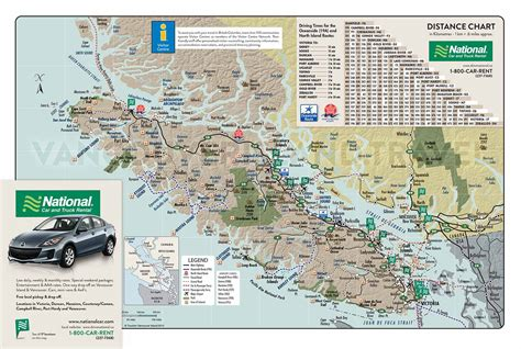 printable map vancouver island map of vancouver island vancouver island vacation guide