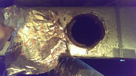 hvac air duct leak repair