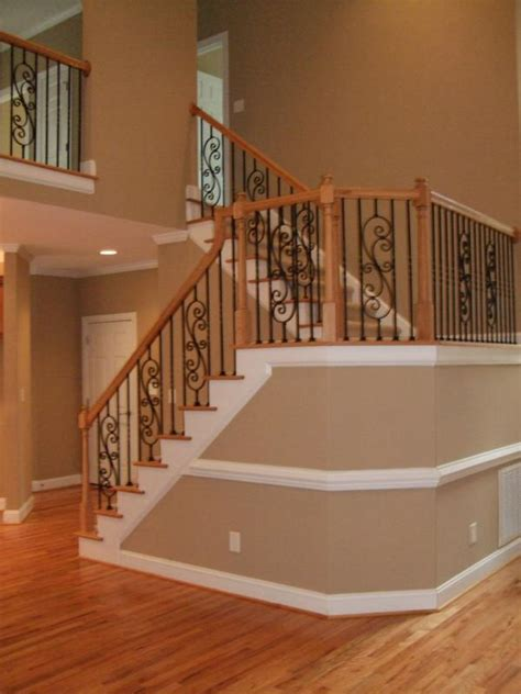 Open Staircase Ideas New Home Staircases Oak Craftsman And More Styles And Trends