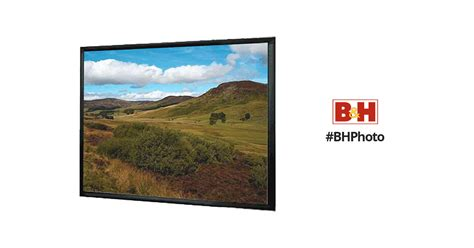 Simple Screen Fixed Frame 84 4 3 Soft Matte Grey 1 mustang sc f84w4 3 fixed frame projection screen sc f84w4 3 b h