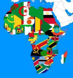 colors of africa flags of africa