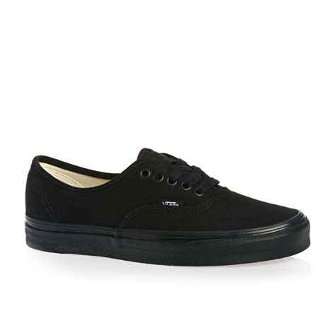 shoes vans vans authentic shoes black free uk delivery on all orders