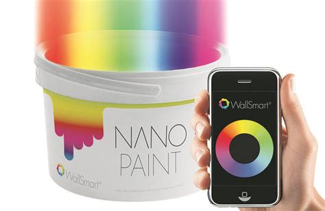 change wall paint color by app l wallsmart interactive paint is imbedded with color changing