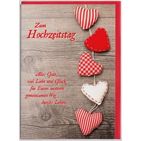 Zum Hochzeitstag by Gl 252 Ckwunschkarte Zum Hochzeitstag Liebe Und Gl 252 Ck
