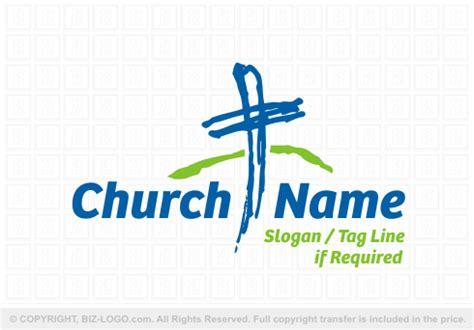 design free church logo the logos shown here are sourced from bizlogo com