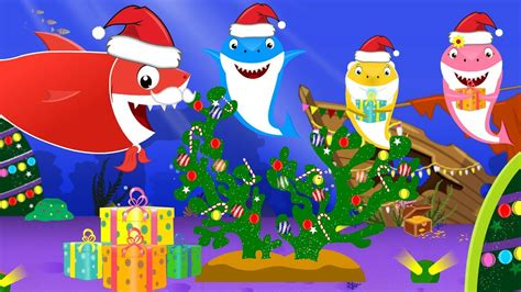 baby shark christmas baby shark christmas gift robbed by pirate shark kids
