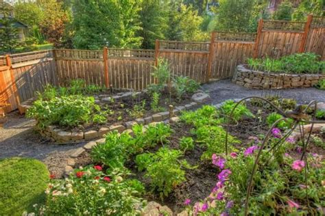 Rock Vegetable Garden 15 Charming Garden Design Ideas With Edges And Raised Beds