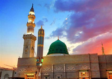 kumpulan foto  gambar masjid nabawi  madinah