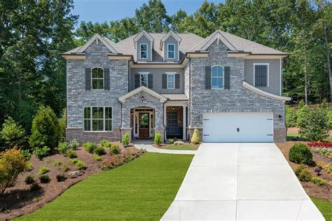 ryland homes atlanta announces decorated model home now