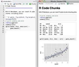 r code chunks