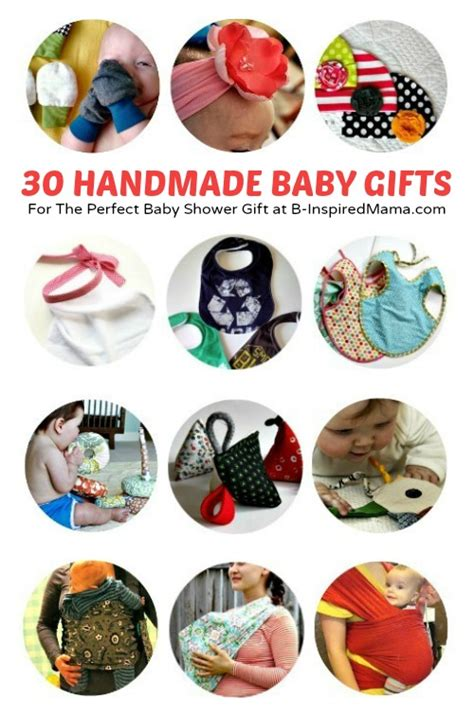 Handcrafted Baby Gifts - diy baby gifts 30 handmade baby gift tutorials