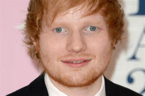 fan tells ed sheeran he s ugly but she loves him anyway